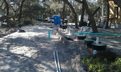 Hope Children's Septic System Installation