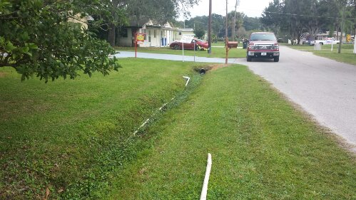 Illegal Septic System Discharge