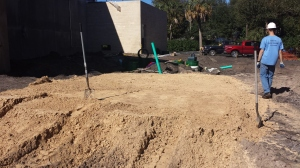 Septic System Bed