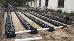 Low Profile Septic System