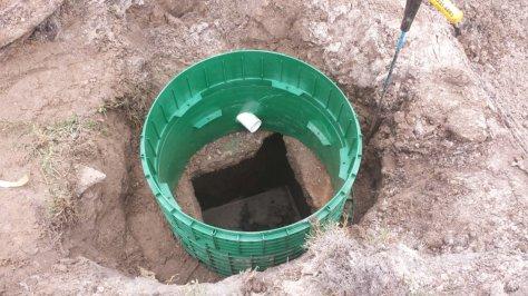 Concrete Cap For Septic Damaged Plumbing Diy Home